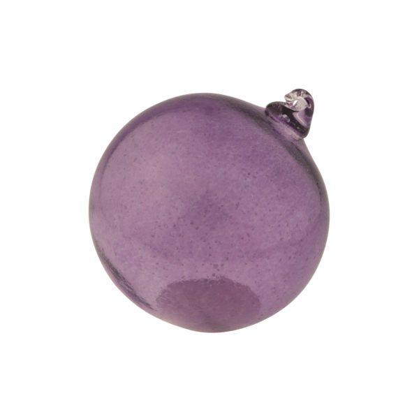 Koristelasipallo violetti