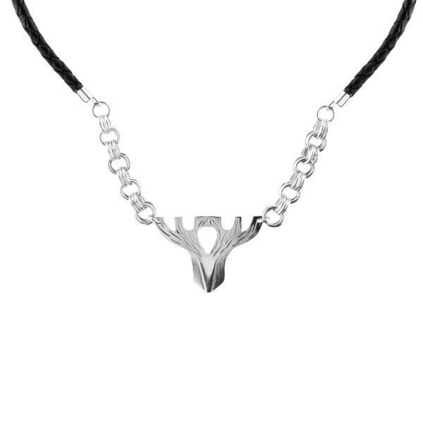 Hirviriipus, hopeaa