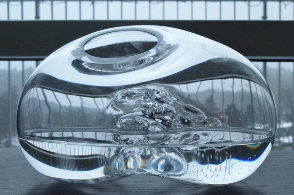 Käsintehty taidelasi-maljakko Glassberg