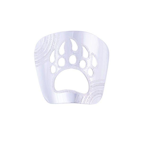 Karhunjälki solmiokoru hopea