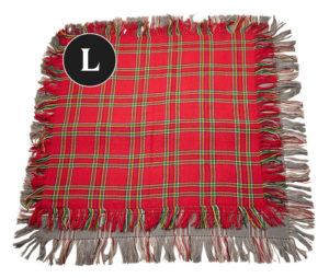 L-kokoinen villahuivi