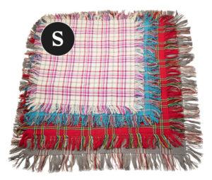 S-kokoinen villahuivi