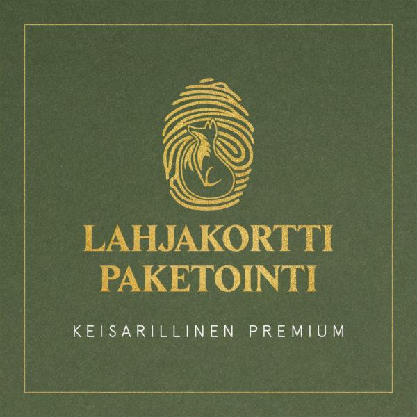 Lahjakorttipaketointi Keisarillinen Premium